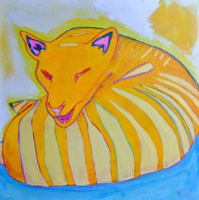 """Thylacine Says"" -Allegra Sleep"