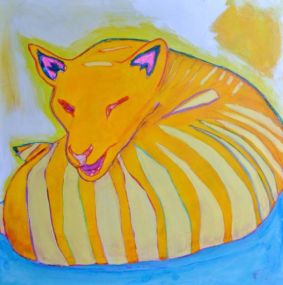 """Thylacine Says"" -Allegra Sleep"